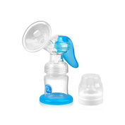 Gland Manual Breast Pump Breastfeeding Pump for Nursing Moms BPA Free, with Back Follow Prevent Device