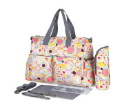 Baby Changing Nappy Nappy Mummy Bag Bottle Holder Tote Bag