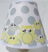 Yellow Owl Night Lights / Owl Nursery Decor