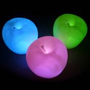 DDU(TM) Cute Apple Shape Colour Changing LED Lamp Night Light Halloween Party Festival Decoration