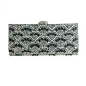 Rhinestone and Pearls Evening Clutch