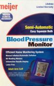 Meijer Blood Pressure Monitor
