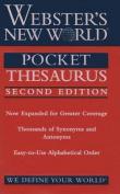 Webster's New World Pocket Thesaurus