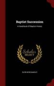 Baptist Succession
