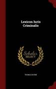 Lexicon Iuris Criminalis