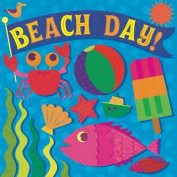 Beach Day! (Fluorescent Pop!) [Board book]