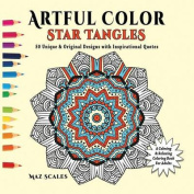 Artful Color Star Tangles