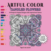 Artful Color Tangled Flowers