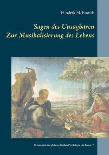 Sagen Des Unsagbaren [GER] by Hinderk M Emrich.