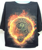 NECA Hunger Games Black T-shirt District 12 logo - Medium