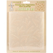 Ecstasy Crafts Leane Creatief Embossing Folder, Christmas Branches Background, 15cm by 16cm