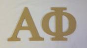 Alpha Phi 19cm Unfinished Wood Letter Set