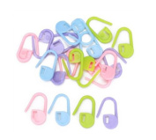 SMO 20pcs Knitting Crochet Locking Stitch Markers