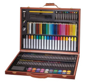 Art 101 173-Piece Wood Art Set Multi-Coloured