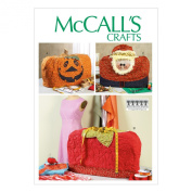 McCall Pattern Company M6857 Sewing Machine Covers Sewing Template, One Size
