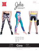 Jalie Cora Running Tights or Shorts Leggings Sewing Pattern 3462