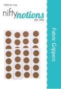 Nifty Notions Fabric Grips Sandpaper Dots Pack of 36