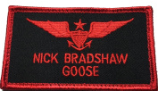US Navy Top Gun Strike Fighter Tactics Nick Bradshaw Goose Patch - By Patch Squad