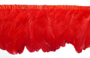 Sowder Duck Goose Feather Trim Fringe 2 Yards