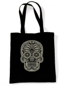 Sugar Skull Tote / Shoulder Bag