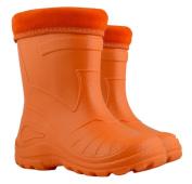 Ultra Light EVA Kids Girls Wellington Boots Rainy Snow Wellies Red Very Warm Liners