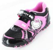 Girls Hello Kitty Cartoon Character Snowdrop Casual Trainer Shoe 61649