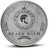 Kingsman beard balm, beard balm, beard softener, beard conditioner - 100% natural made in England leave in beard balm