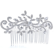 Feichen Bridal Stunning Wedding Rhinestones Diamante Hair Comb Clip