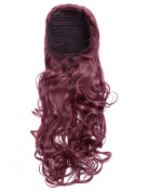 New Ladies 530 Cherry Beauty Works tousled Volume Boost Drawstring Ponytail Hair Extensions Updo Style Quick n Easy