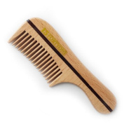 1541 London Wooden Pocket Moustache Comb