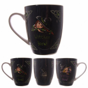 Lisa Parker Witches Brew Bone China Mug - Birthday Christmas Gift present
