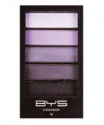 BYS Palette of 5 Eyeshadows Smokey Purples
