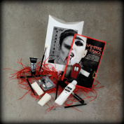The Adult Vampire Make Up Set - Everything you need to become the perfect Vampire this Halloween! - Includes Fangs & Glue! - By Moreton Gifts