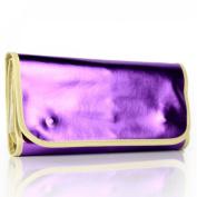 16Pcs Makeup Brushes Eyeshadow Foundation Set + Purple Bag New Superior