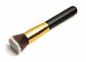 ANKKO Professional Multifunction Flat Top Synthetic Kabuki Makeup Foundation Brush Black