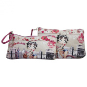 Betty Boop Amsterdam Two Cases Make Up Cosmetic Pochette Vanity Bag
