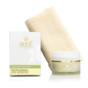 Saaf Pure Face Cleanser & Cloth 40g x 1