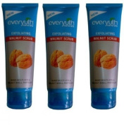 Everyuth Exfoliating Walnut Scrub 100g (pack Of 3)