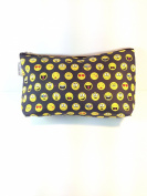 Kids Cotton Wash Bag - Emoticons