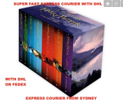 The Complete Harry Potter Boxed Gift Collection J. K. Rowling 7 Books Set New | EXPRESS COURIER FROM SYDNEY WITH DHL OR FEDEX