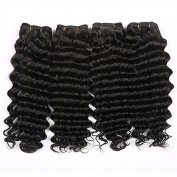 Sexyqueenhair Deep Curl Brazilian Hair Weave Extensions Funmi Hair Weft Remy Human Hair Weaves 80cm 3pcs/lot