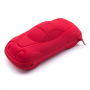 Bobby Car Glasses Case - Red