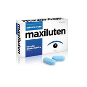 MAXILUTEN - 30 tablets - The supplement contains a high dose of lutein and zeaxanthin, vitamins and minerals that may favourably affect the eyesight