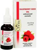 Raspberry Seed Oil, Raw Cosmetic, Cold Pressed, Unrefined, Ol'Vita 30 ml