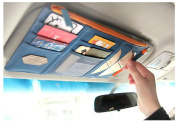 Car Visor Organiser, Sun Shade CD Holder Card Storage Pouch Bag
