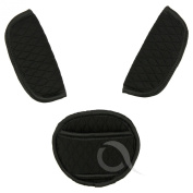 BELTS PADS SHOULDER STRAP & CROTCH cover UNIVERSAL Fits most buggy, stroller, car seat
