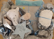 Newborn Baby Boy Hamper - free. Message Option