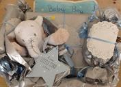 Newborn Baby Boy Hamper - free. Message Option