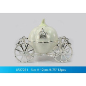silver plated royal carriage trinket box one