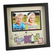 VeKa Classic Collection New View Foil Pops Photo Frame - The Kids 15cm x 10cm